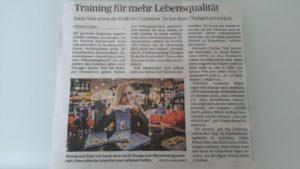 Training für mehr Lebensqualität